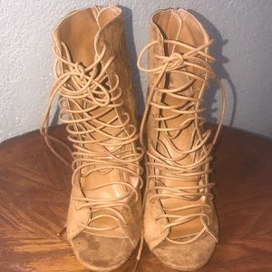 Charlotte Russe high heels. Size 8